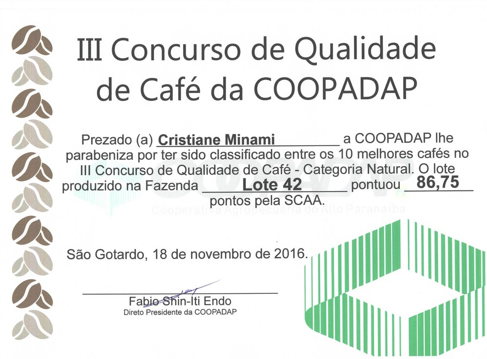 Cooperative's Coffee Quality Championship