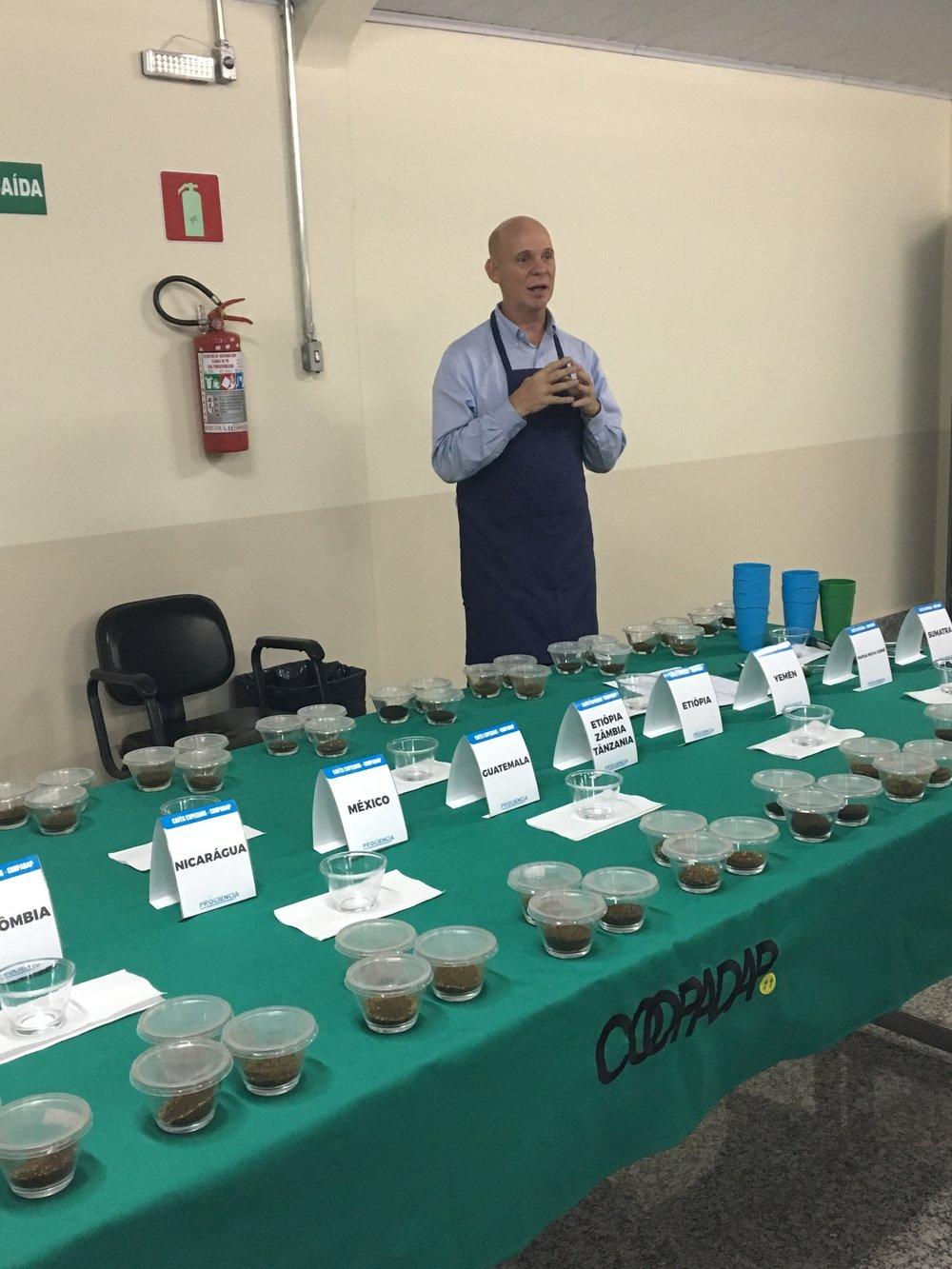 Professor Flavio Meira Borem at Coopadap
