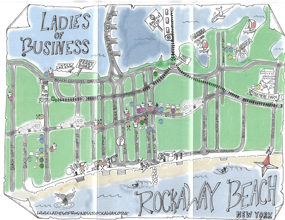The Castle Rockaway_The Ladies of Business