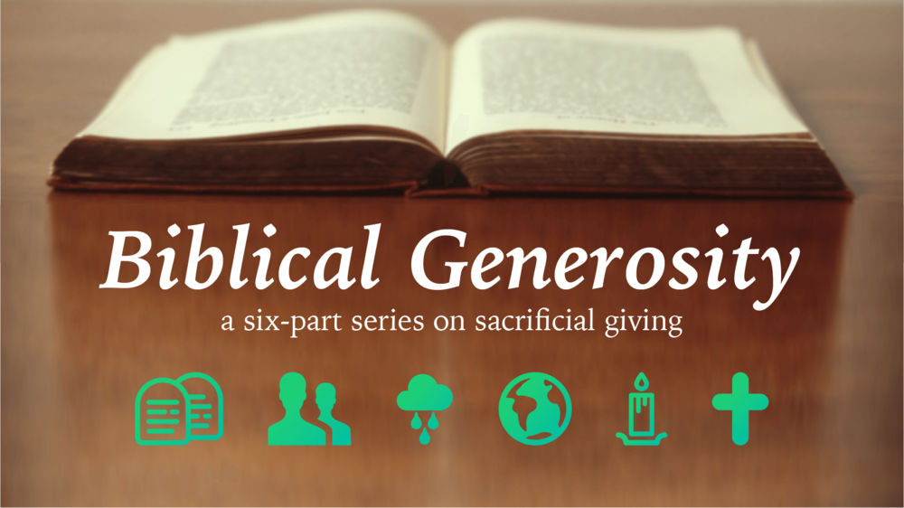 Biblical Generosity Series - Read Devotional Series >Listen to audio from Stewardship Sunday >Learn more about ways to give, why to give, and our budget >