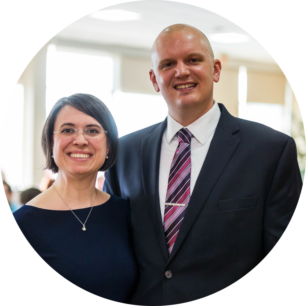 """Parish group has been a great chance to connect with new friends and to deepen existing relationships. We feel more connected to the church community by being able to pray for others in our community and knowing that they are praying for us, too."" - Ted and Sara Ball"