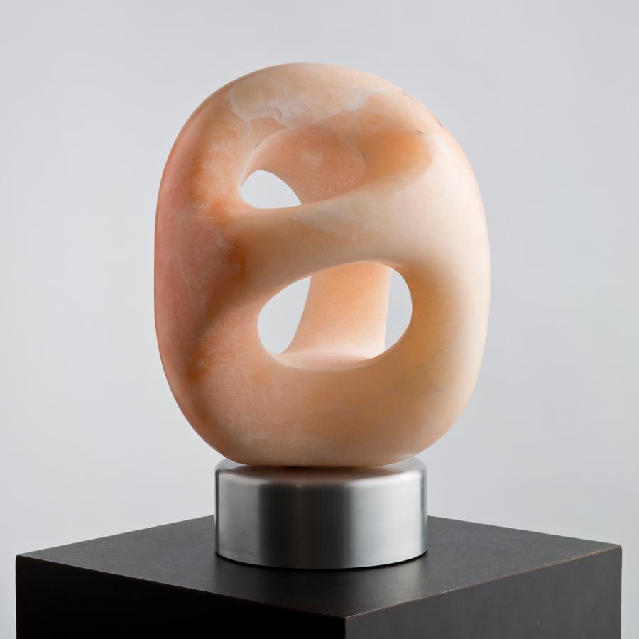 """Translucent Utah Alabaster, 9 x 10 x 14""""h"""