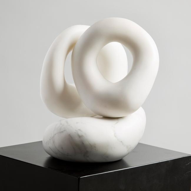 "White Marble, 10 x 10 x 12""h *"