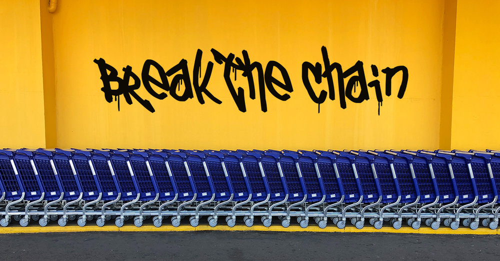Break the Chain.  Big box retailers and monster e-commerce sites have been killing small businesses for years. Help us break the chain. Invest in LiveShopBuy.