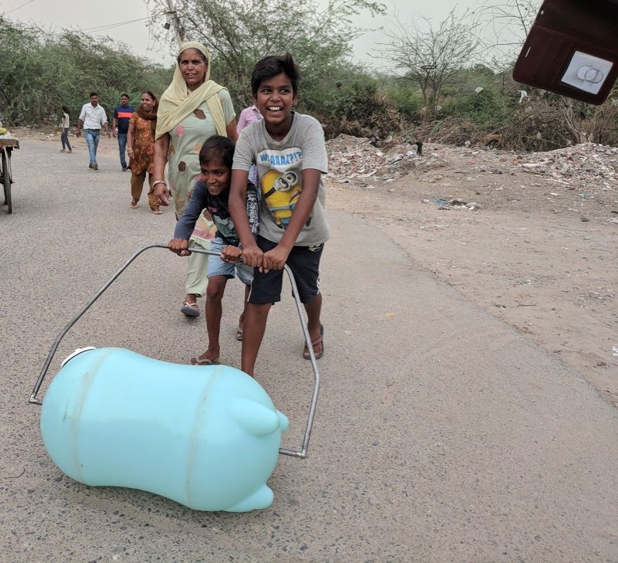 Ease the burden on families. - Our tanks provide the necessary water resources to improve hand washing and other disease preventing sanitary practices in the home.