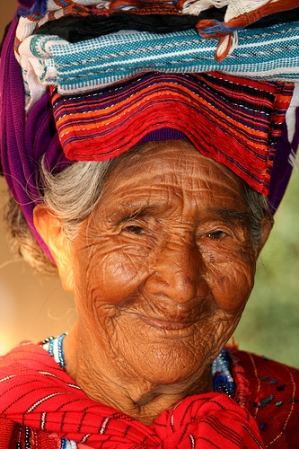 Guatemalan Elder Rosa Franco (for example)