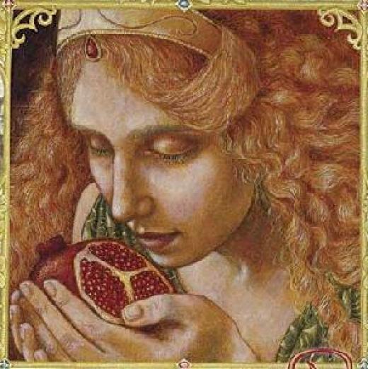 Persephone Queen of the Underworld - ARTIST UNKNOWN