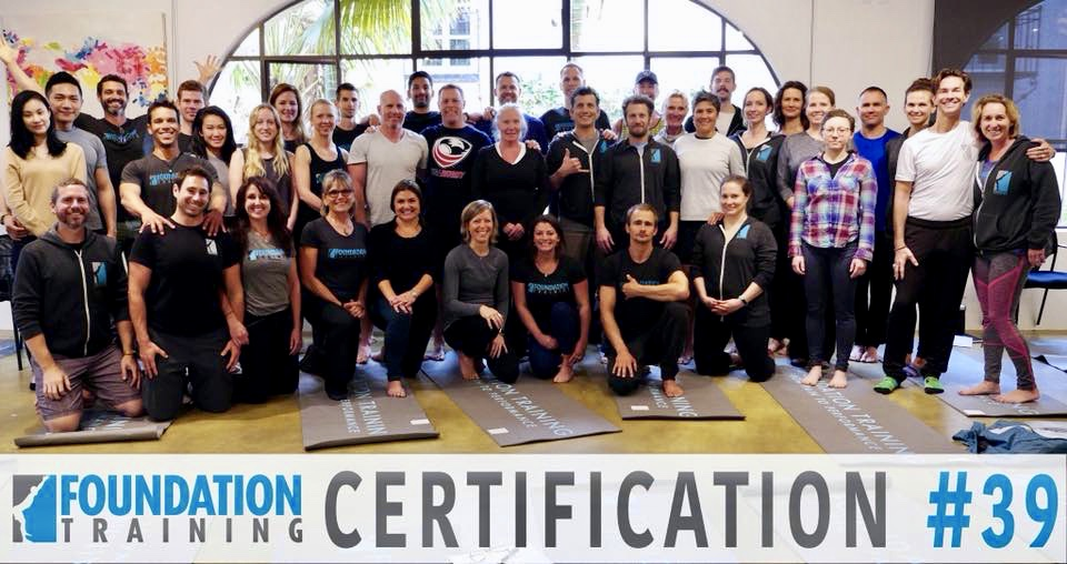 Foundation Training Certification Group Photo