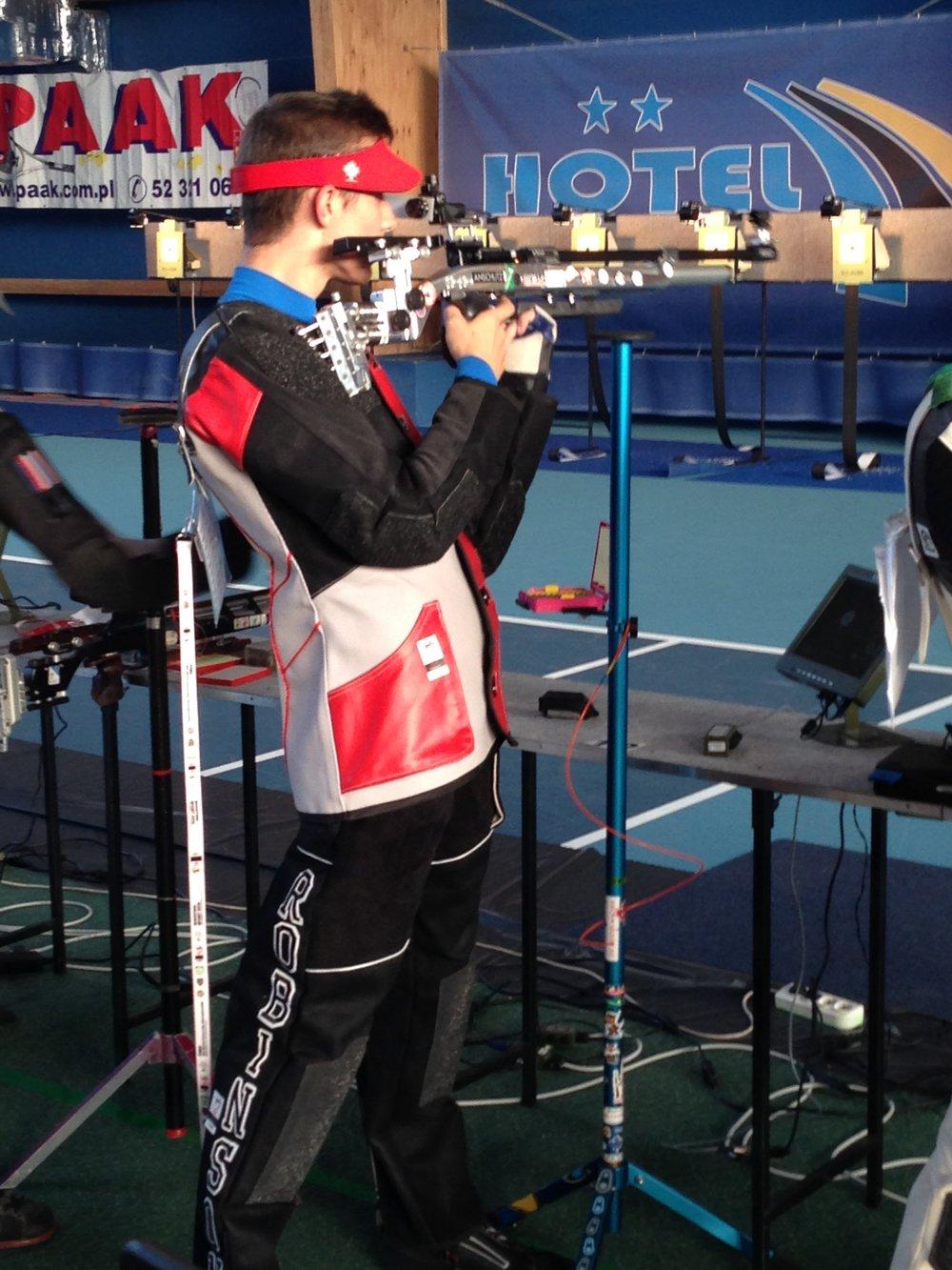 2016 FISU World University Championship,Bydgoszcz, Poland Sebastian Robinson