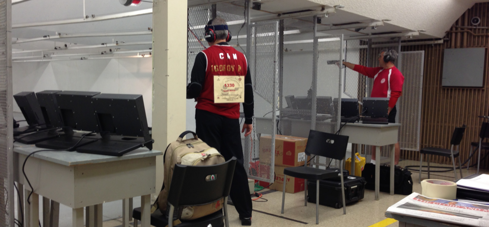 CRPC - 2013 Canadian National Pistol Championships - 25m Rapid Fire Men Metodi Igorov (PQ), Alan Markewicz (AB)