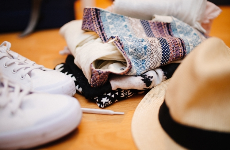 sneakers shorts and hat