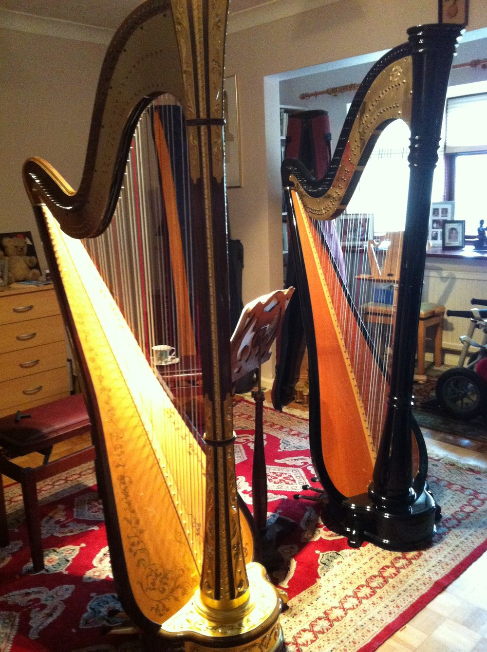 Back to back testing - new harp vs old
