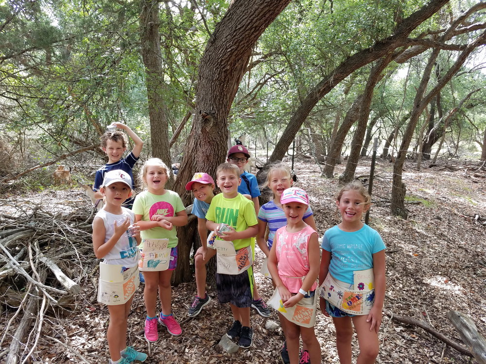 These Wildlife Explorers enjoyed our walks on the farm while taking notes in their journals of interesting findings along the way.