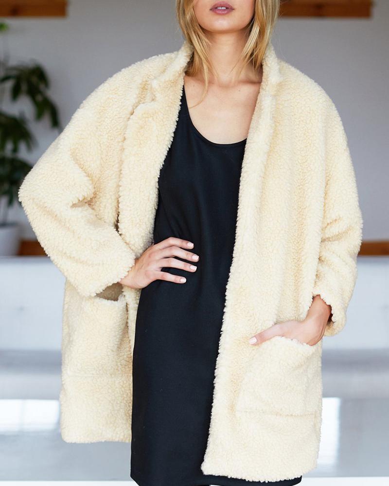 Style: Teddy Bear Coats