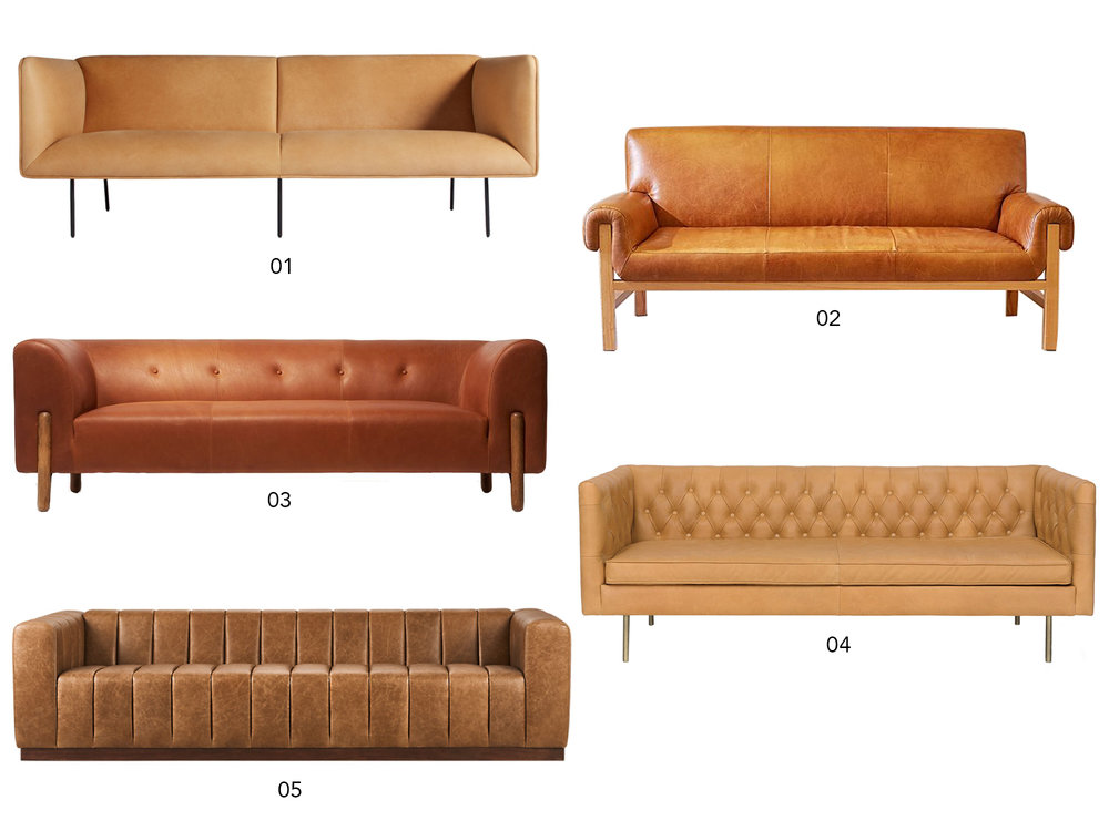 tan leather couch. Shop: The Perfect Tan Leather Sofa Couch O