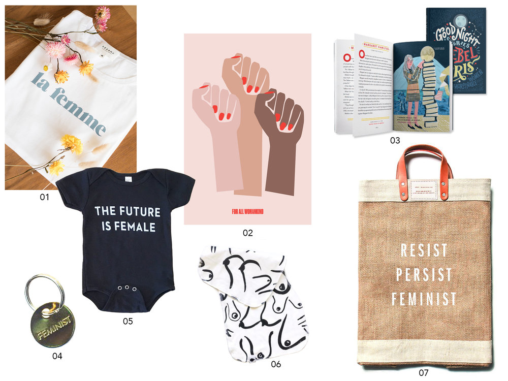 Woman's Day Finds for the Modern Feminist | Design Confetti