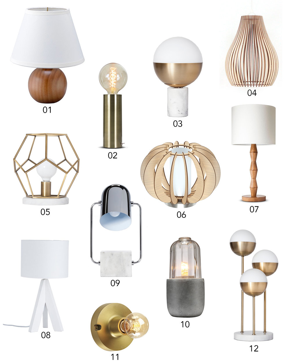 Exceptionnel 50 Stylish Lamps You Wonu0027t Believe Are Under $50 | Design Confetti