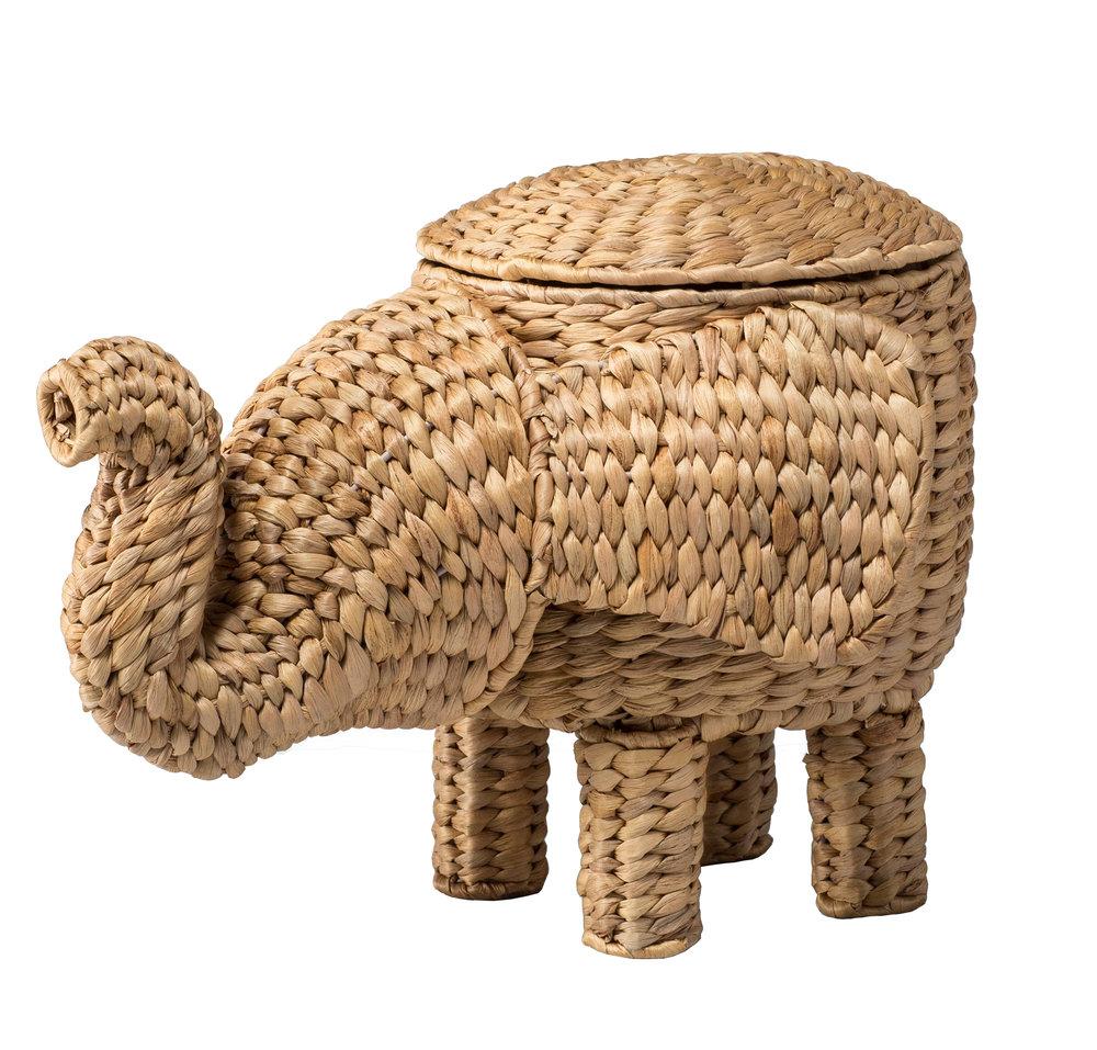 Elephant Basket, $24.99 -