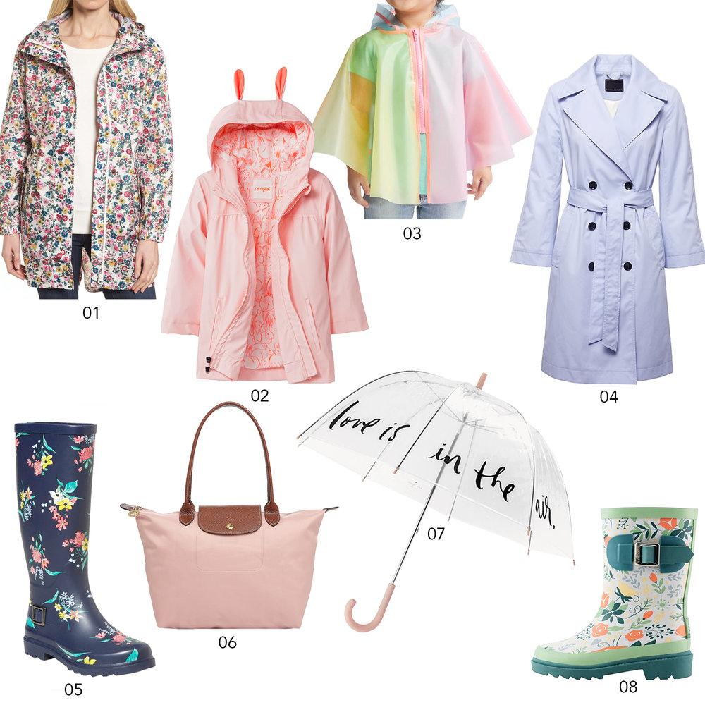 The Cutest Raingear for Spring | Design Confetti