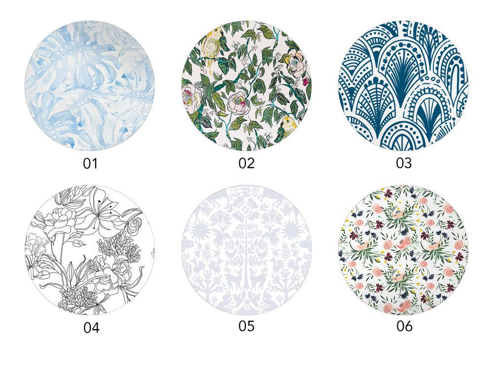 Removable Wallpaper Options | Design Confetti