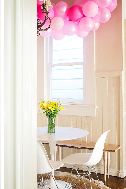 The Easiest DIY Rainbow Balloon Arch | Design Confetti