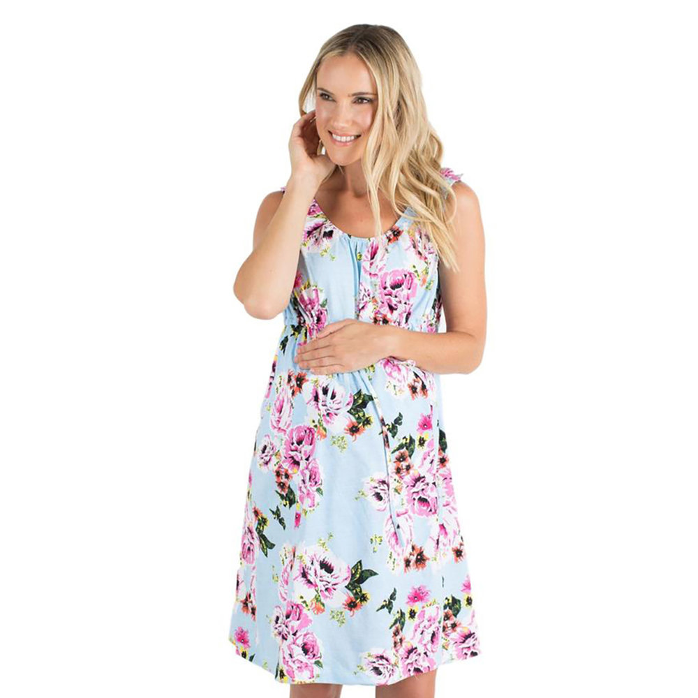 Baby be Mine Isla Floral 3 in 1 Gown,  Amazon , $30