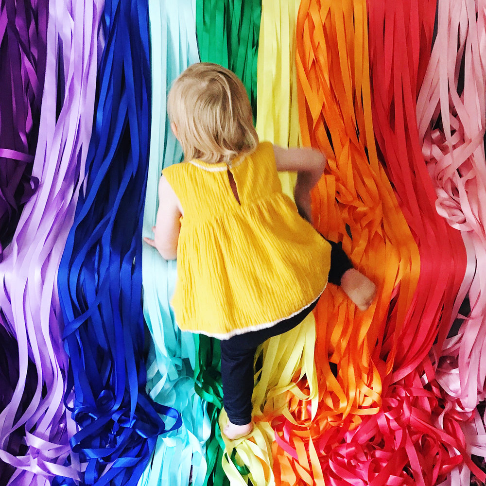 Coming Soon: DIY Ribbon Backdrop
