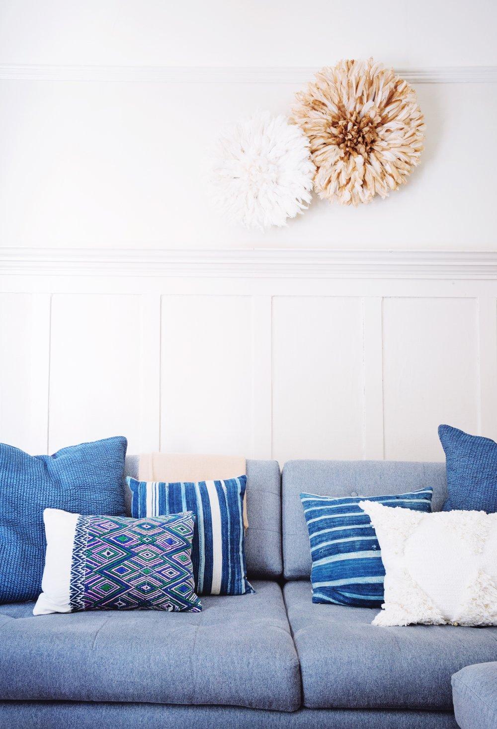 Secret to Saving on Throw Pillows