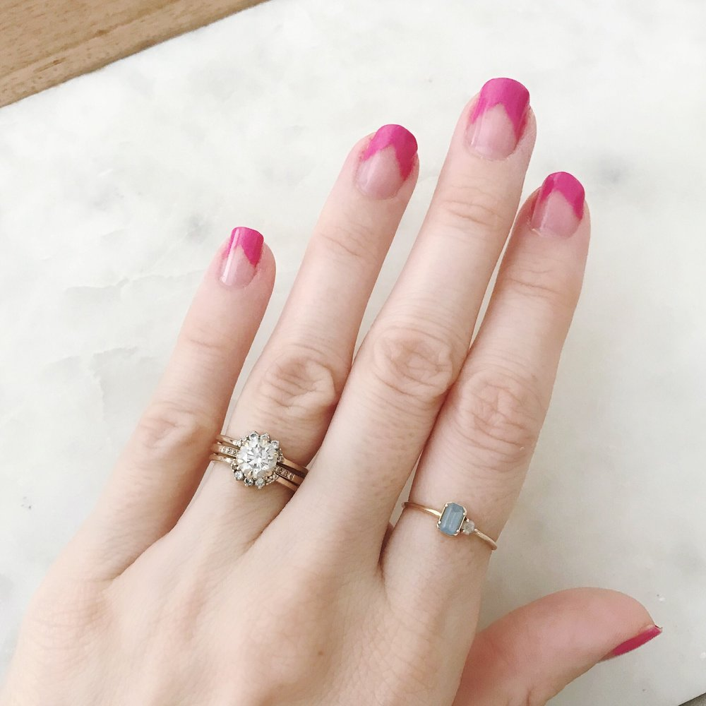 DIY Beauty: Negative Space Manicure