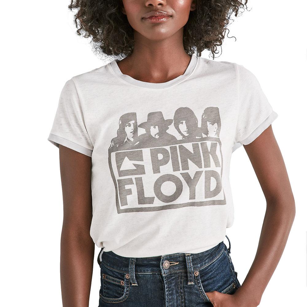 Bold Pink Floyd Ringer Tee, Lucky Brand, $39.50 -