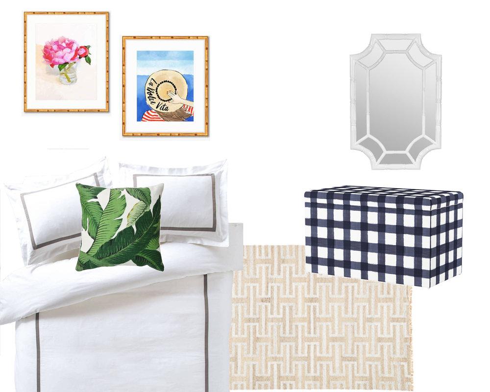 Dorm Room Decor: Modern Prep | Design Confetti
