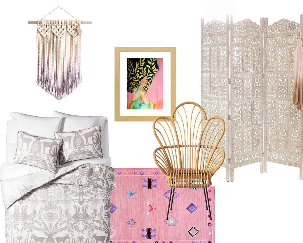 Dorm Room Decor: Eclectic Bohemian | Design Confetti