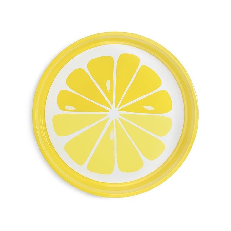 Lemon Drink Tray, $18