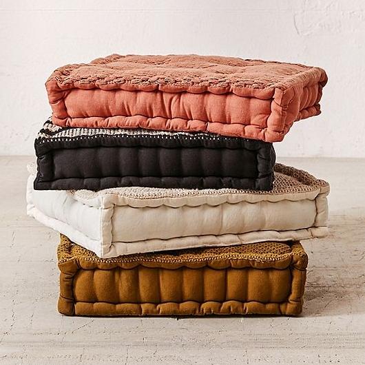 Knit Floor Pillow, $49