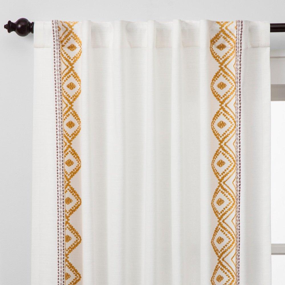 Global Border Curtain Panel, $20