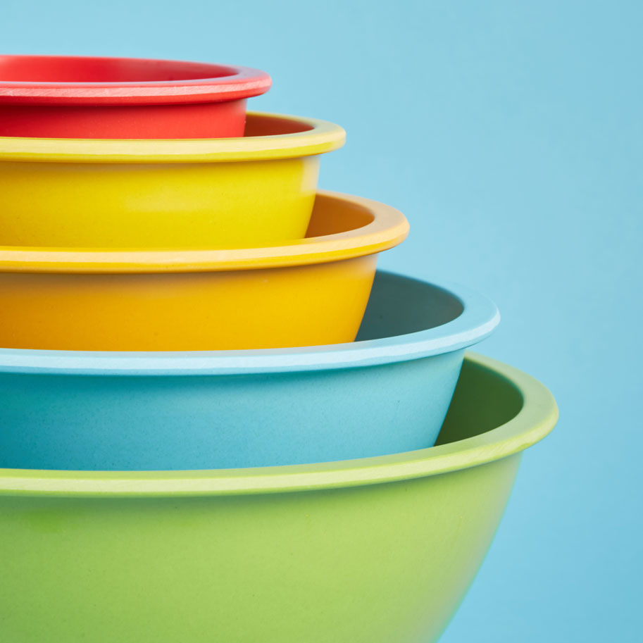 Bright Side Mixing Bowl Set, $32