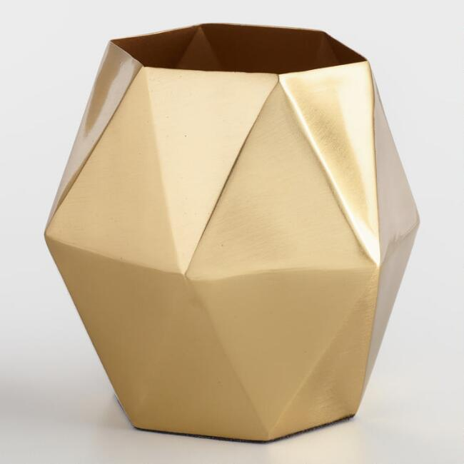 Gold Kiara Pencil Cup, $13