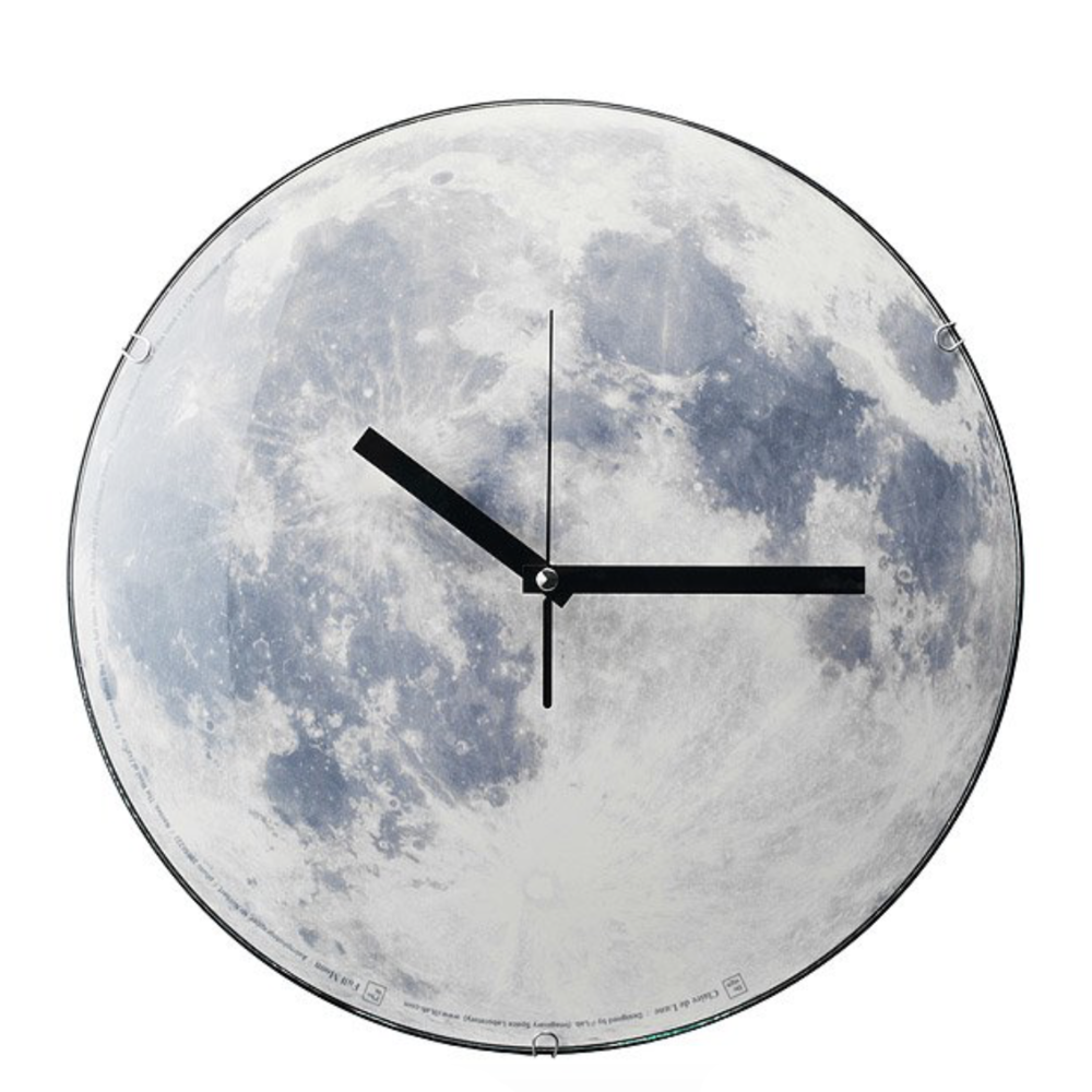 Moon Clock, $40