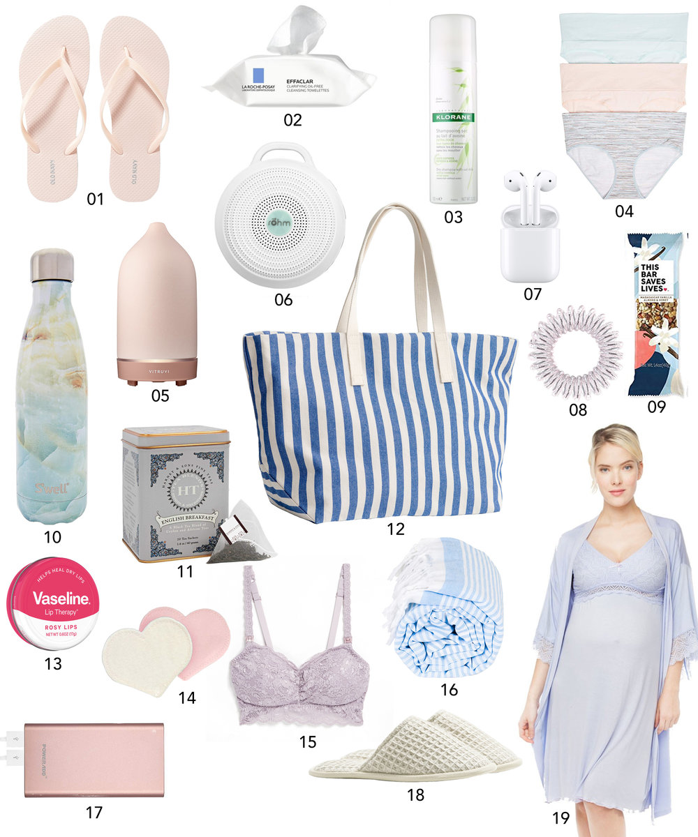 Hospital Bag Essentials | Design Confetti