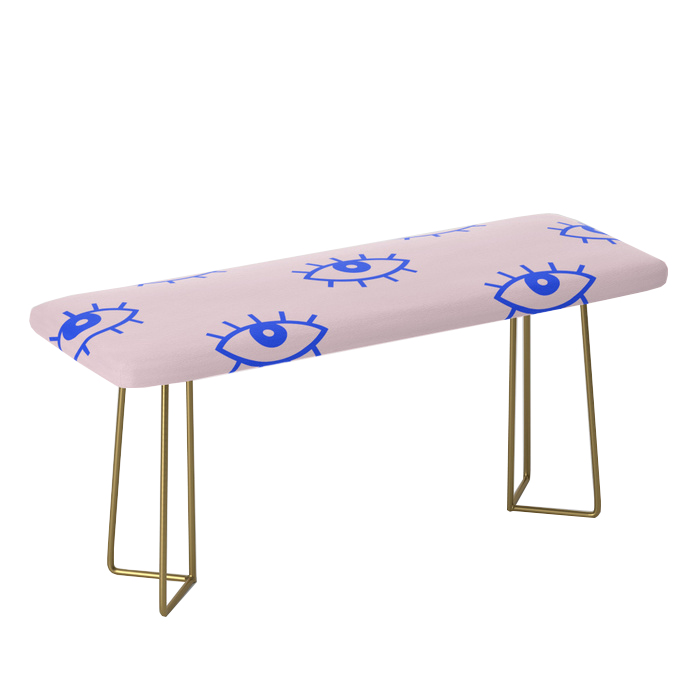EYES V Bench, Society6, $299 -