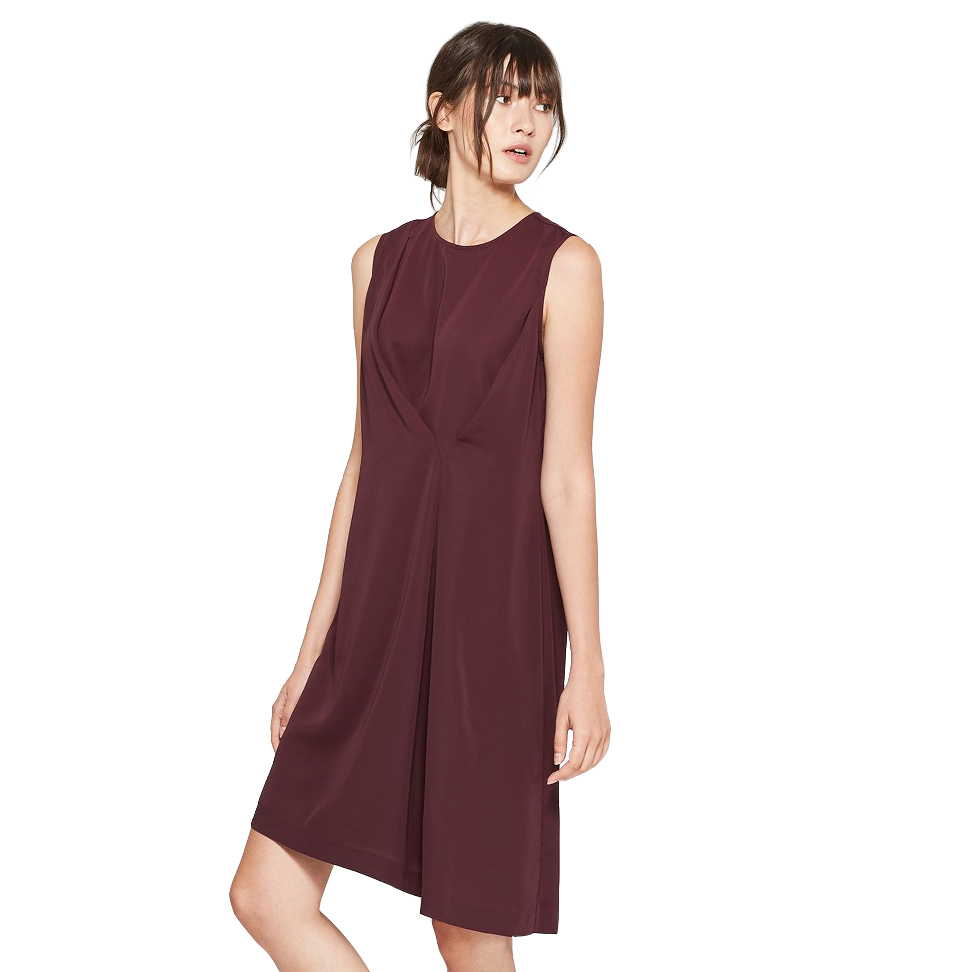 Women's Sleeveless Draped Asymmetric Dress, Target, $29.99 -
