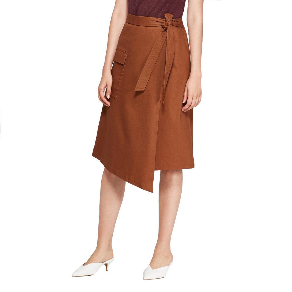 Women's Asymmetrical Wrap Skirt, Target, $24.99 -
