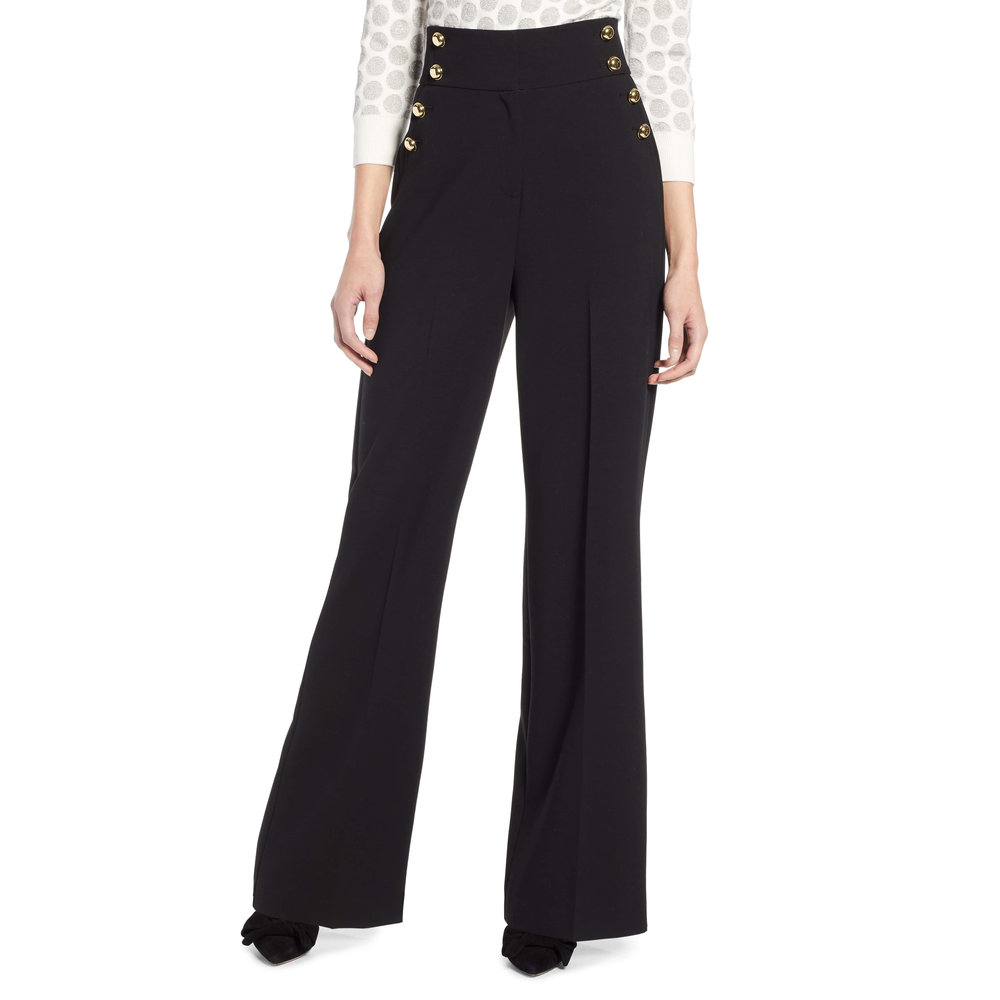 Halogen x Atlantic-Pacific High Waist Wide Leg Pants, Nordstrom, $99 -