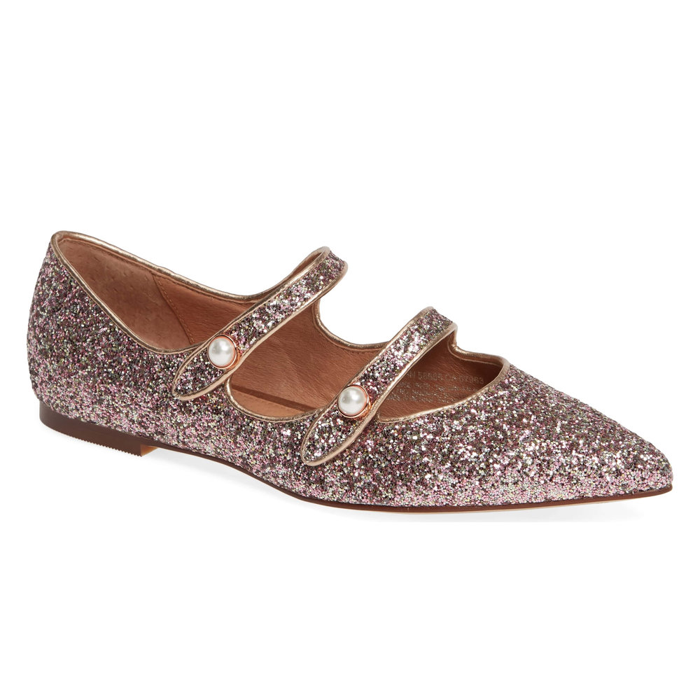 Halogen x Atlantic-Pacific Double Strap Flat, Nordstrom, $99.95 -