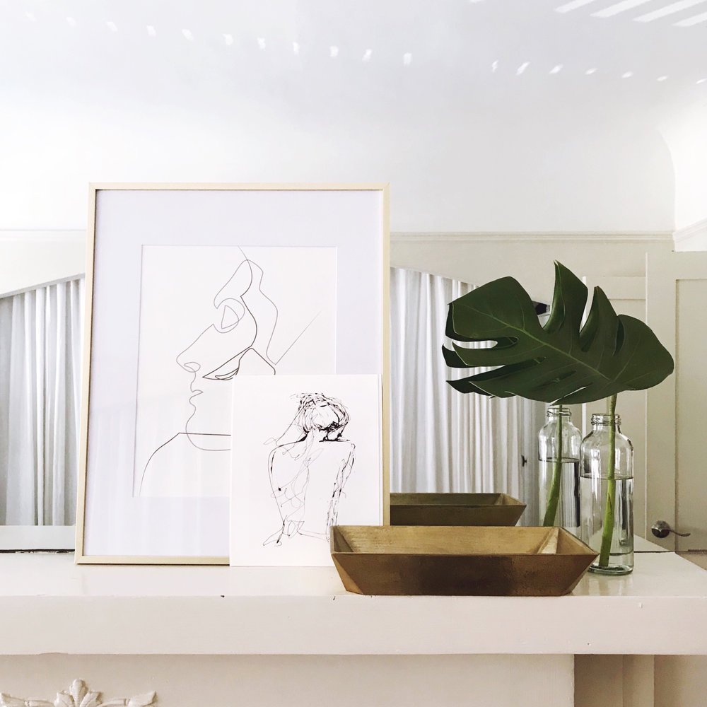 One Room Challenge, Week Five: Putting it all Together + a Little Preview | Design Confetti