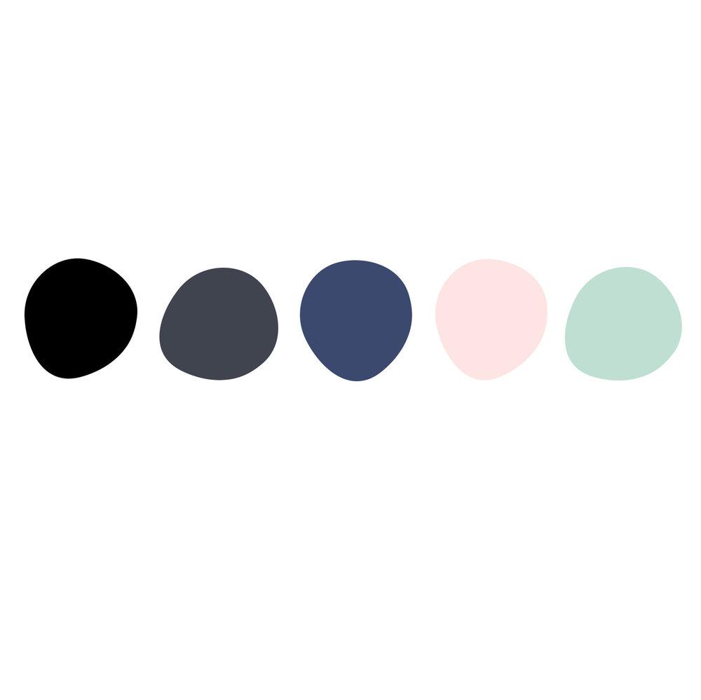 Week Three: Color Palette + A Baby Friendly #Shelfie -