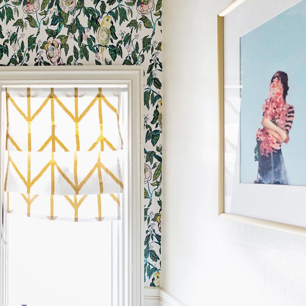 Week Five: Installing Removable Wallpaper -