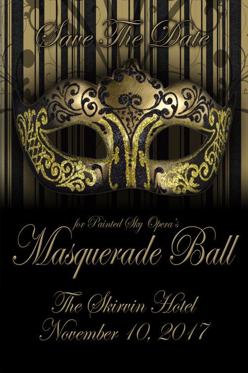 Masquerade Ball Gala Painted Sky Opera