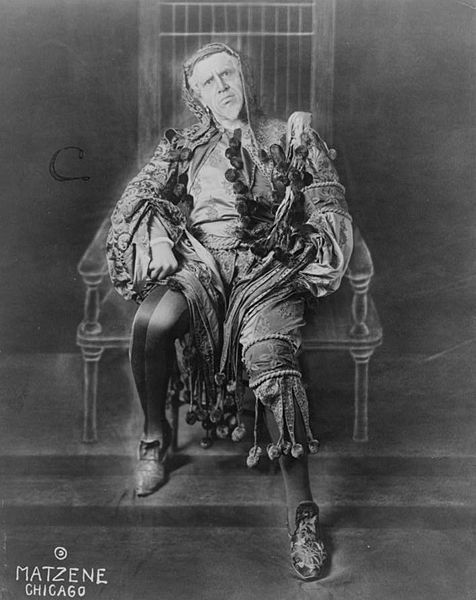 Titta Ruffo as Rigoletto, circa 1912.