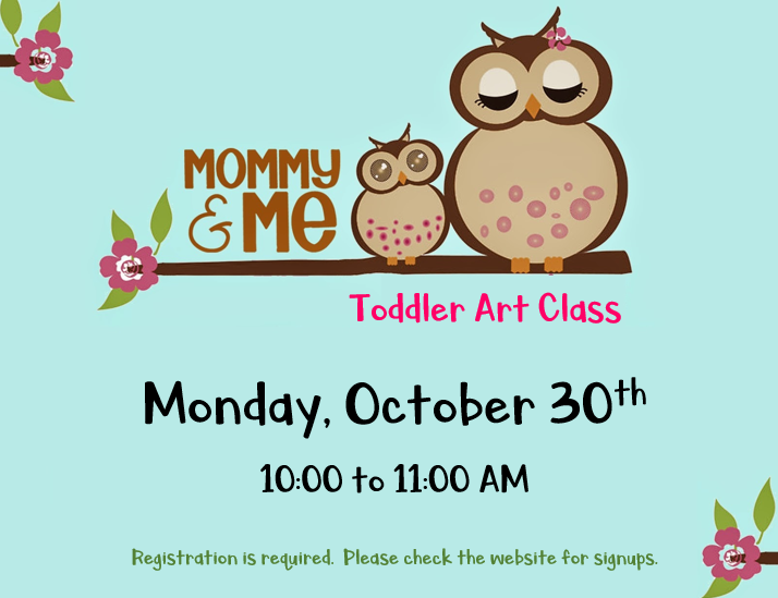 Mommy and Me Toddler Art Class (Ages 2-4) — North Brunswick Public